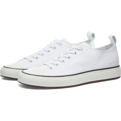 コモン プロジェクト Common Projects メンズ スニーカー シューズ・靴 Tournament Low Canvas White