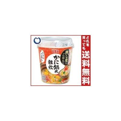 送料無料 丸美屋 スープdeごはん かに鍋風雑炊 69g×6個入