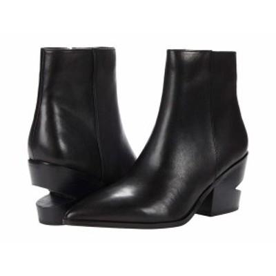 スティーブ マデン レディース ブーツ・レインブーツ シューズ Canteen Bootie Black Leather