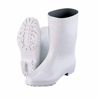 弘進 ゾナGL白長靴(耐油性) 24.5cm SNG11245