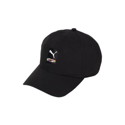 プーマ PUMA 帽子 ブラック one size ナイロン 100% 帽子