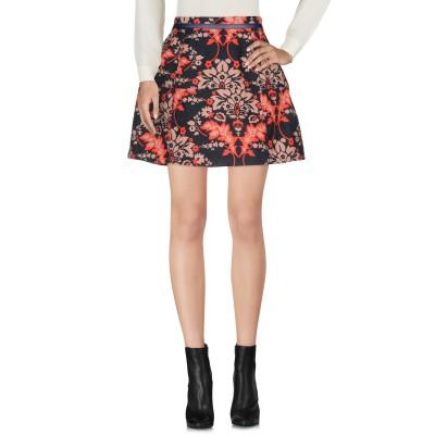 リュー ジョー LIU •JO ミニスカート ブルー 44 ポリエステル 100% ミニスカート