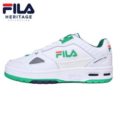 フィラ スニーカー FILA バッシュ メンズ レディース 大きいサイズ ブランド おしゃれ 白 テラタック 600 F0555 0132
