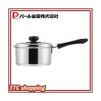 パール金属 片手鍋 16cm 鍋蓋付 IH対応 コンフォール 日本製 HB-1129