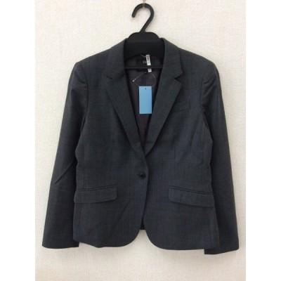23区 小さめサイズ グレー テーラードジャケット