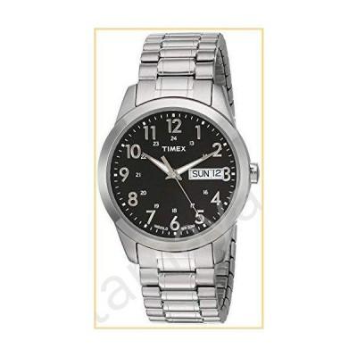 Timex Mens Silver-tone Classic Dress Watch