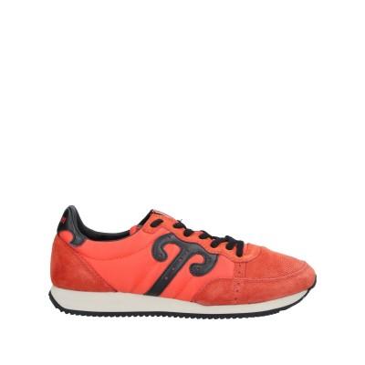 WUSHU SHOES スニーカー&テニスシューズ(ローカット) オレンジ 40 革 / 紡績繊維 スニーカー&テニスシューズ(ローカット)