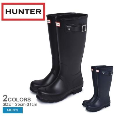 ハンター レインシューズ メンズ オリジナル トール HUNTER MFT9000RMA ブラック 黒 シューズ ラバー ブーツ 靴 長靴 雨具 防水