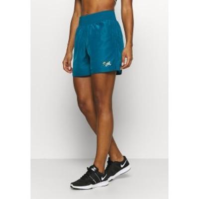 エバーラスト レディース カジュアルパンツ ボトムス AMETHYSTE - Sports shorts - blue blue