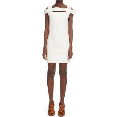 ジバンシー GIVENCHY レディース ワンピース ワンピース・ドレス Cold Shoulder Open Back Dress White