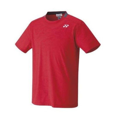 YONEX ヨネックス 10409 テニス・バドミントン ウエア 男女兼用 ユニゲームシャツ(フィットスタイル) サンセットレッド 10409