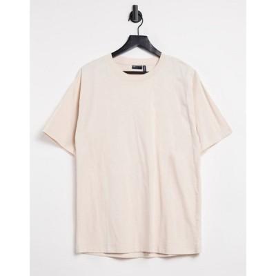 エイソス ASOS DESIGN レディース Tシャツ トップス Asos Design Ultimate Oversized T-Shirt In Cream クリーム