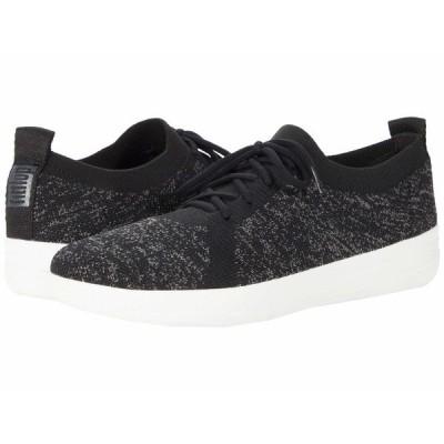 フィットフロップ スニーカー シューズ レディース F-Sporty Uberknit Sneakers Black 2