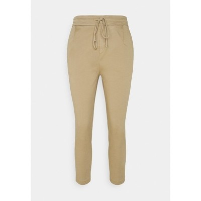 ドライコーン カジュアルパンツ レディース ボトムス LEVEL - Trousers - camel