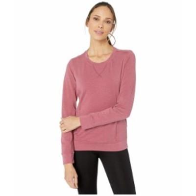 マーモット レディース パーカー・スウェット アウター Laurel Long Sleeve Shirt Dry Rose Heather