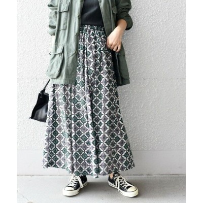 SHIPS for women/シップスウィメン 【SHIPS別注】UHURU プリントバリエーションスカート■ ピンク 38