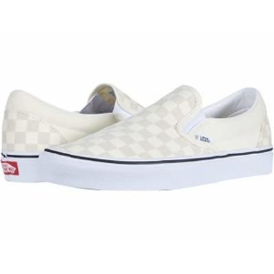 (取寄)バンズ クラシック スリップオン Vans Classic Slip-On (Checkerboard) Classic White/True White
