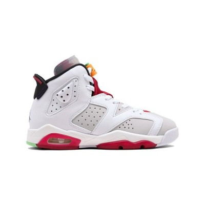 AIR JORDAN 6 RETRO GS 'HARE' エア ジョーダン 6 レトロ ヘア 【BOY'S】 neutral grey/white-true red-black 384665-062