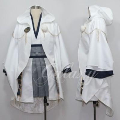 刀剣乱舞 鶴丸国永 女体化 コスプレ衣装 cc1446【送料無料】(cc1446)