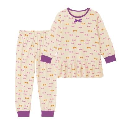 ふわふわ雲みたいな夢見ごこちフリルパジャマ【子供パジャマ 長袖】(ジータ/GITA basic)