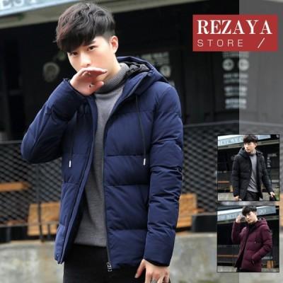 秋冬 ダウンコート メンズ ダウンコート ショート 大きいサイズ フード付き カジュアル メンズ ダウンジャケット ショート丈 コート アウター 中綿コート