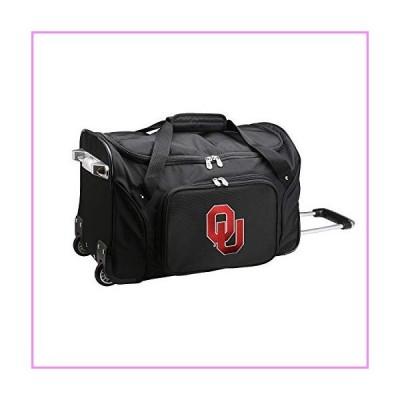 NCAA Oklahoma Sooners Wheeled Duffel Bag, 22-inches, CLOUL401【並行輸入品】