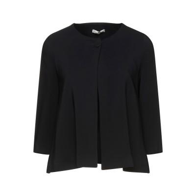CRISTINAEFFE テーラードジャケット ブラック 38 レーヨン 96% / ポリウレタン 4% テーラードジャケット