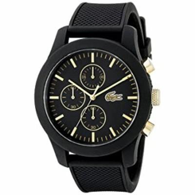 腕時計  Lacoste Men's 2010826 12.12 Analog Display Quartz Black Watch