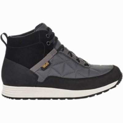 (取寄)テバ メンズ エンバー コミュート ブーツ Teva Men's Ember Commute Boot Black/Grey