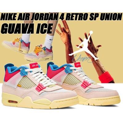 NIKE AIR JORDAN 4 RETRO SP UNION guava ice/lt fusion red dc9533-800 ナイキ エアジョーダン 4 レトロ ユニオン グァバ アイス スニーカー AJ4