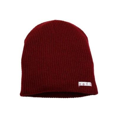 帽子 ネフ Neff Daily ビーニー Maroon ワンサイズ