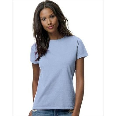 レディース 衣類 トップス SL04 Womens Nano-T T-Shirt Size Extra Large, Light Blue Tシャツ