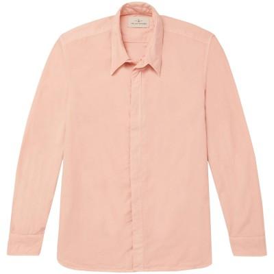 THE LOST EXPLORER シャツ ピンク XS コットン 100% シャツ