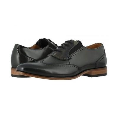 Stacy Adams ステーシーアダムス メンズ 男性用 シューズ 靴 オックスフォード 紳士靴 通勤靴 Sullivan Wing Tip Oxford - Olive/Camo