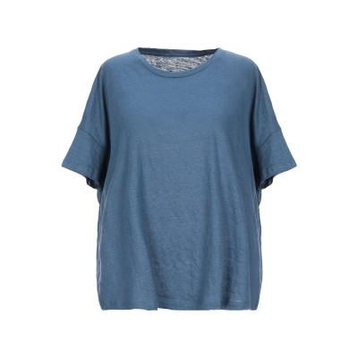 マジェスティック MAJESTIC FILATURES T シャツ ブルーグレー 2 麻 94% / ポリウレタン 6% T シャツ