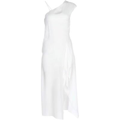 イザベル・ベネナート ISABEL BENENATO ミニワンピース&ドレス アイボリー 40 シルク 100% ミニワンピース&ドレス