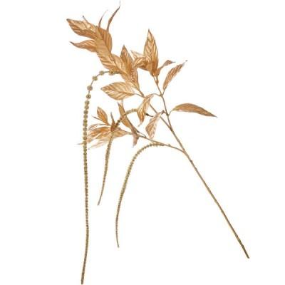 造花 YDM グリッターアマランサススプレー ゴールド FS -6103-GO 造花 花材「か行」 ケイトウ
