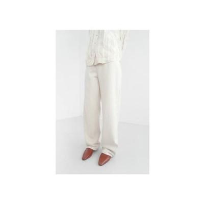 AFTERMONDAY レディース パンツ fluffy basic cotton pants