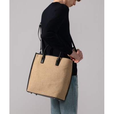 TOMORROWLAND/トゥモローランド the dilettante PHASE VERTICAL TOTE 2WAYトートバッグ 43 ベージュ F