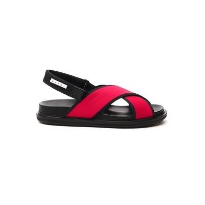 マルニ メンズ サンダル シューズ Marni Fussbett Sandals -