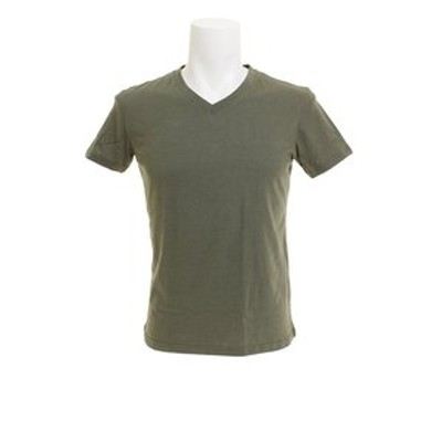 クー(Coo.)無地 Vネック Tシャツ 871Q8JY2070OLV オンライン価格