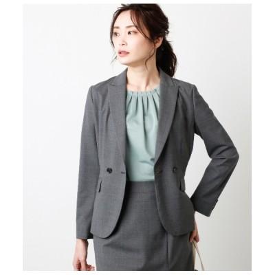NEWYORKER / 【ウォッシャブル】モヘヤ混 ダブルデザインジャケット WOMEN ジャケット/アウター > テーラードジャケット