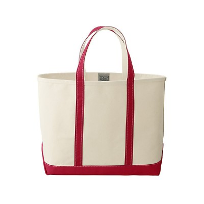 <L.L.Bean(Men)/エル・エル・ビーン> トートバッグ Boat and Tote Open-Top L Red Trim【三越伊勢丹/公式】