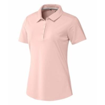 アディダス レディース シャツ トップス Ultimate365 Polo Shirt Pink Tint