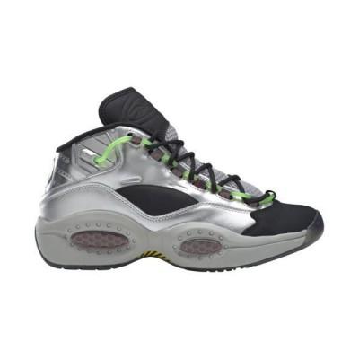 (取寄)リーボック メンズ シューズ クエスチョン ミッド 10 ミニオンズ Reebok Men's Shoes Question Mid x Minions Silver Metallic Black Scarlet