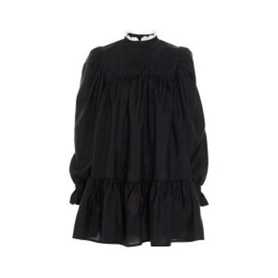 AVAVAV Black   Mini Ruffle Dress dress レディース 春夏2021 AV0102999BLACK ju