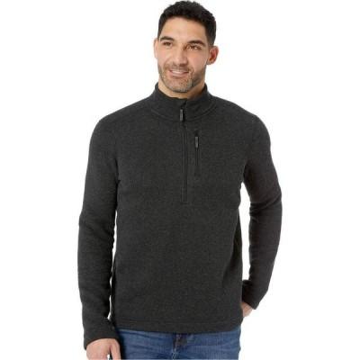 スマートウール Smartwool メンズ ニット・セーター トップス Hudson Trail Fleece 1/2 Zip Sweater Dark Charcoal