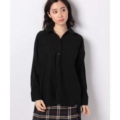 Ranan(ラナン)トレンチ風デザインゆるシャツ