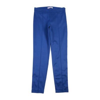 MISS BLUMARINE パンツ ブルー 14 コットン 97% / ポリウレタン 3% パンツ