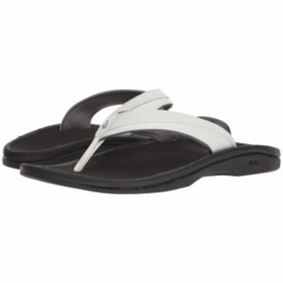 オルカイ OluKai レディース ビーチサンダル シューズ・靴 Ohana W White/Black